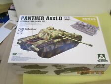 1/35  TAKOM  PANTHER  AUSF. D  EARLY/MID  2 IN 1 FULL INTERIOR   (2103)   1274g