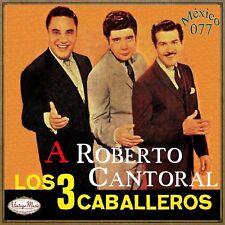 LOS TRES CABALLEROS Mexico Collection CD #77/100 - MEXICAN Trio Ranchera Bolero