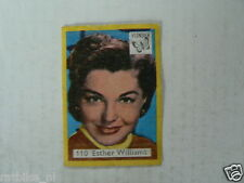 VL2-110 VLINDER LUCIFERS,MATCHBOX LABELS MOVIE MUSIC STARS ESTHER WILLIAMS