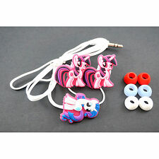 My Little Pony Pink Mobile Headphone Headset Earphone Earbud For iPhone MP3 /4