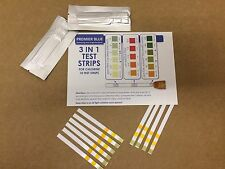 More details for 3 in 1 test strips for chlorine - swimming pools
