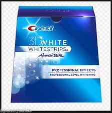 CREST 3D White Professional Effects Whitestrips Teeth Whitening Strips NEW 3 D