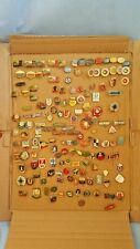 Old Enamel Czech Pins Badges Collection Set