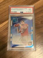 (LIMITED QTY REPACK) Patrick Mahomes Optic Rookie Card Graded PSA 9! 🔥 (READ)