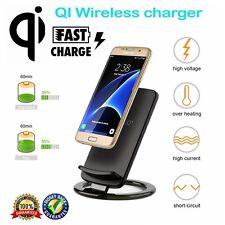 Qi Wireless Quick Induktive Ladegerät Ladestation for iPhone 8/+ Samsung Note 8