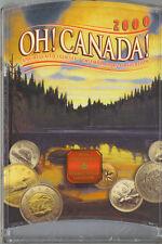 Canada 2000 Oh Canada Uncirulated Coin Set