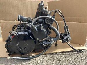 honda Nsr125 nsr 125 Jc20 Complete Engine Turns Over 125cc Alcast Frame