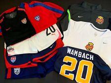 USA WPS NWSL ABBY WAMBACH Soccer Jersey Jacket Shorts GAMEUSED LOT USWNT US