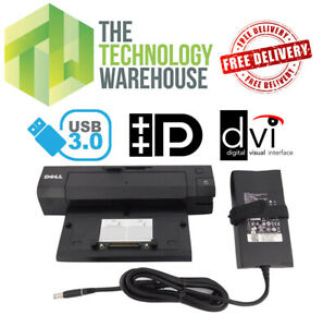 Dell PR02X Docking Station & Power Supply - USB 3.0 E-Port Plus Port Replicator