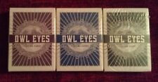 Owl Eyes Playing Cards Set (3 Decks)