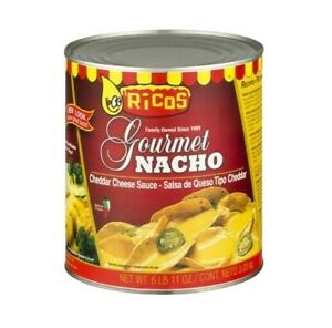 Rico Gourmet Nacho Cheddar Cheese Sauce Single Tub 6Lbs/3kg