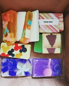 Lot of 8 handmade soaps