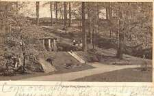 Chester Pennsylvania Crozier Park Street View Antique Postcard K44452