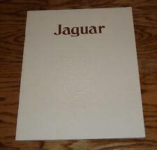 Original 1978 Jaguar XJ6 and XJ12 Deluxe Sales Brochure 78