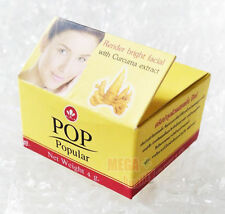 New! POP Popular Curcuma Cream Anti-Oxidant Moisturized Whitening Skin 4g.