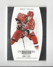 2011-12 Dominion #37 Eric Staal Hurricanes 100/199