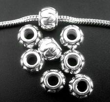 80Pcs Lantern Spacer Bead Fit Charm Bracelet
