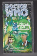 Dr. Who 'Battlefield' VHS Sylvester McCoy, Sophie Aldred, Jean Marsh