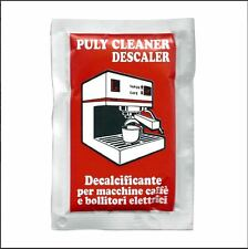 Puly Caff Cleaner Descaler Espresso Machine Cleaner 3 - 30 Gram Packets