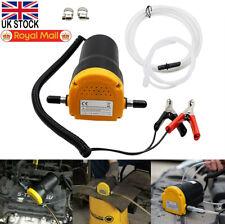 60W 12V Electric Engine Oil Fluid Extractor Car Liquid Transfer Siphon Pump UK