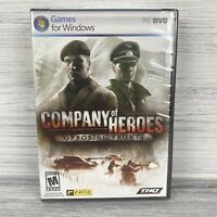 Company of Heroes: Opposing Fronts (PC, 2007) Computer Game New Sealed