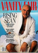 VANITY FAIR MAGAZINE JUNE 1993 SEAN CONNERY-HIS GRIT AND WISDOM