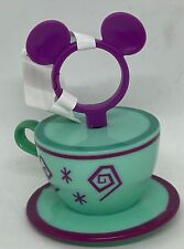 Disney Parks Mad Tea Party Tea Cup Spinning Keychain New with Tag