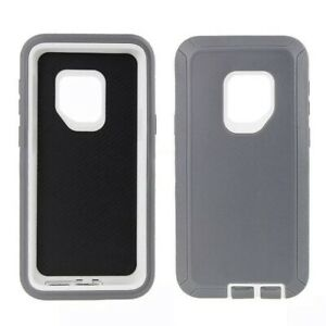 For Samsung Galaxy S9 / S9 Plus Defender Heavy Duty Rubber Hard Phone Case Cover