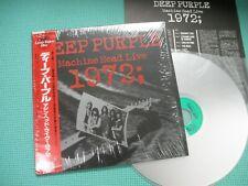 DEEP PURPLE LD Laser Disc Machine Head Live 1972 Japan 70044-88 OBI