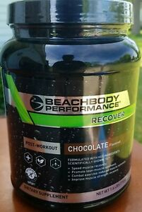 Beachbody performance recover chocolate  01/2021 new sealed post workout  1.6 lb