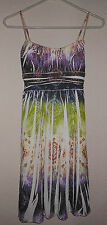 Womens SUNDress by Ruby Rox  size SMALL S 92% Polyester 8% Spandex