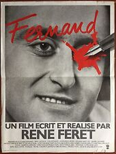 Affiche FERNAND René Féret BERNARD BLOCH Jany Gastaldi 40x60cm *