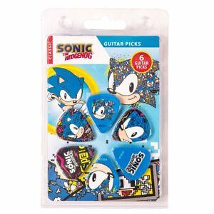 Perri's Sonic The Hedgehog Guitar Picks Gamer / Musician Gift - LP-SO2