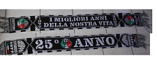 FIGHTERS JUVENTUS SCIARPE SCARF ULTRAS JUVENTUS FIGHTERS JUVENTUS 25 ANNI