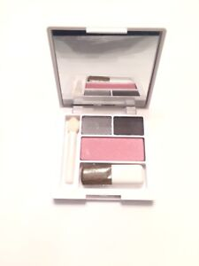 Clinique all about shadow duo and blushing blush powder blush