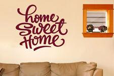 Home Sweet Home Felt Tip Pen Vinilo Pegatinas De Pared Adhesivo Decoración
