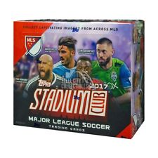 2017 Topps Stadium Club MLS Soccer 36ct Retail Box
