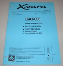 Werkstatthandbuch Citroen Xsara Multiplex System + Picasso Zentralschalteinheit!