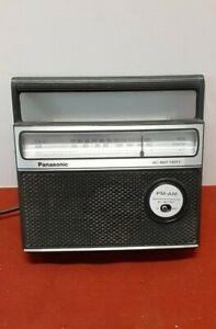 Vintage Panasonic am/ fm radio RF-549 table top self radio