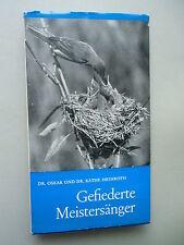 Gefiederte Meistersänger Band I Vögel Ornithologie ohne Schallplatten