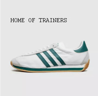 Adidas Country OG White Green MEN'S TRAINERS ALL SIZES