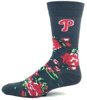 Philadelphia Phillies MLB Baseball Crew Socks Rose NEW