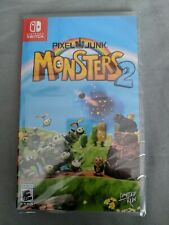 PIXEL JUNK MONSTERS 2 LIMITED RUN GAMES #004 BRAND NEW SEALED.