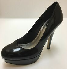 G BY GUESS Shoes, VIANAA-F Black, 3 in and Up, Patent Leather, Size: 8 M