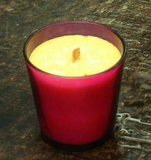 40hr LOVE SPELL Perfumed VICTORIA SECRET Organic Soy WOOD WICK PINK JAR CANDLE
