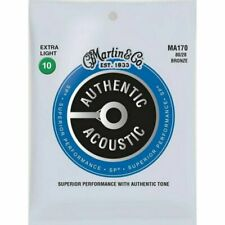 Martin MA170 Authentic Acoustic Extra Light Gauge Guitar Strings 10 - 47