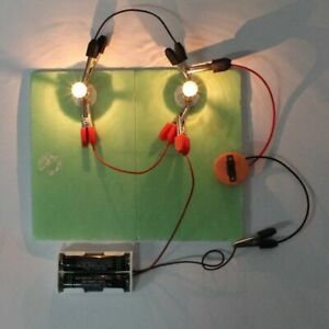 Physical Science Experiments Series Parallel Circuits Diy Material For Children