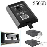 High-speed 250GB Internal Hard Drive HDD Disk Case for Microsoft Xbox 360 Game