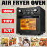 14.7QT Digital Air Fryer Oven with Rotisserie, Dehydrator,Toaster Oven 1800W