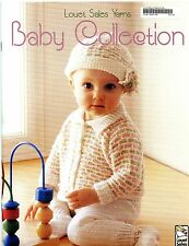 Louet Sales Yarns Baby Collection Knitting & Crochet Pattern Book - Baby NB-24mo